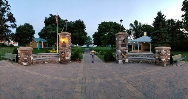 Wellington Park in Wellington, Ont. My mother brought us here on the rare occasion we left home for