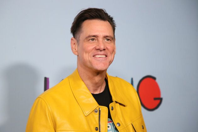 Actor Jim Carrey in Los Angeles, California on Sept. 5, 2018.