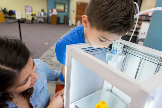 Some libraries are even equipped with 3D printers and maker