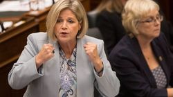Horwath Accuses Ford Of Muzzling Female Cabinet