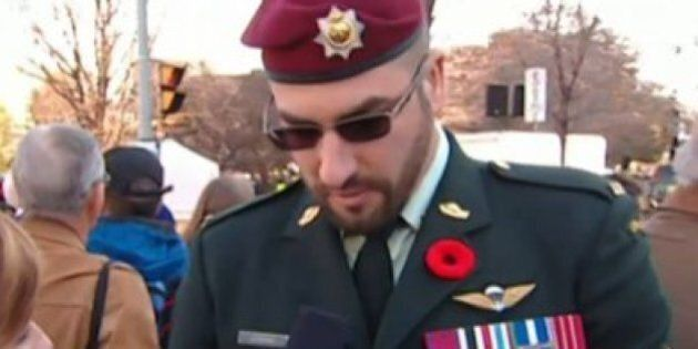 Franck Gervais Pleads Guilty To Illegally Wearing Military Gear On Remembrance
