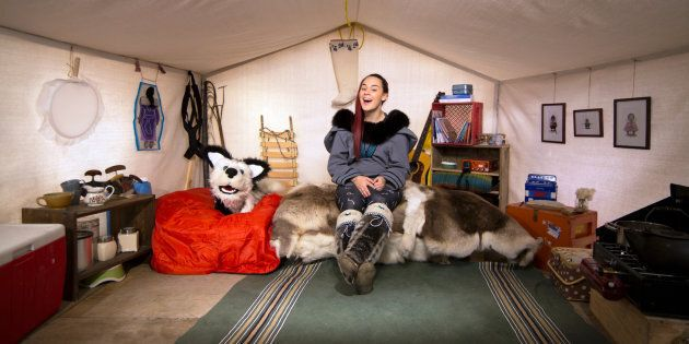 TV Show 'Anaana's Tent' Teaches Kids Inuktitut Language And Inuit