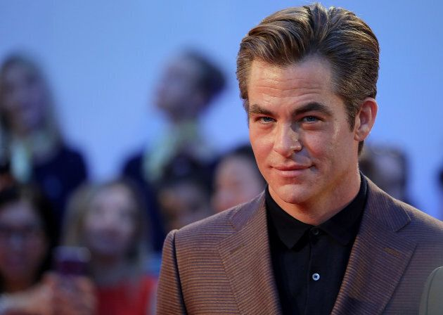 Chris Pine at the premiere of 'Outlaw King' at Roy Thomson Hall on September 6, 2018.