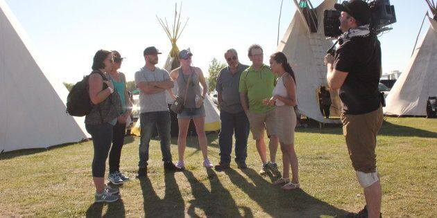 Participants in the new APTN show