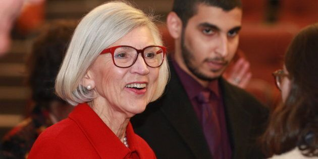Beverley McLachlin, then-Chief Justice of the Supreme Court of Canada, at the second annual Francis Forbes...