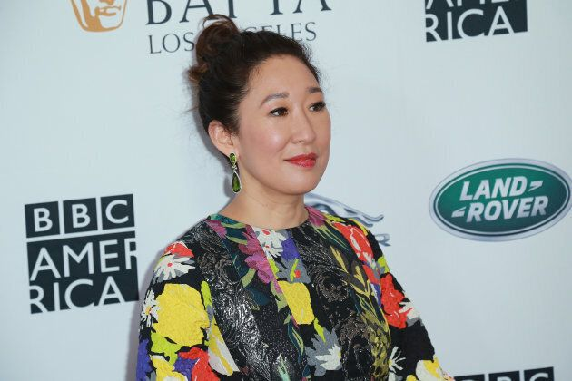 Sandra Oh at the BAFTA Los Angeles + BBC America TV Tea Party \ at The Beverly Hilton Hotel on September 15, 2018.
