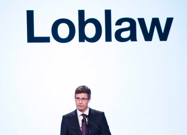 Loblaw Companies chairman and CEO Galen G. Weston speaks during the company's annual general meeting...