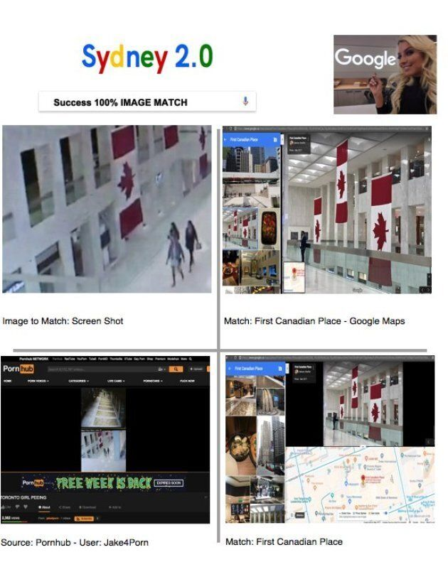 Sydney Eatz used an image verification tool she developed to determine the location of the video posted...