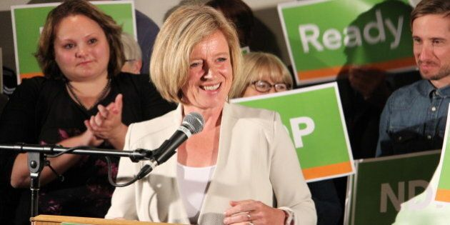 Edmonton-Strathcona MLA Rachel Notley launches her campaign to become leader of Alberta's NDP (June 16,