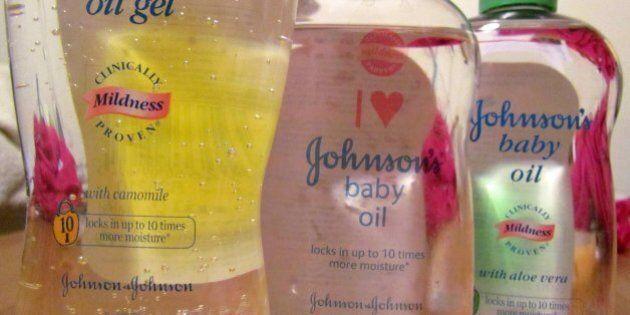 The 'I Heart JOHNSON'S® Baby Oil'