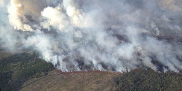 Northern B.C. Wildfire Continues To
