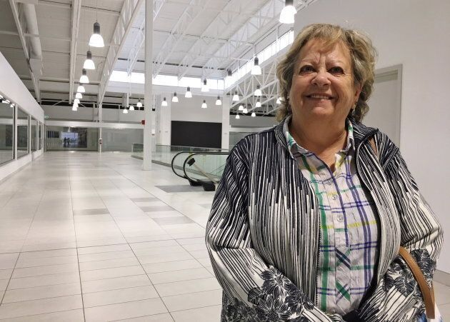 Pat Williams likened the mostly empty mall to being