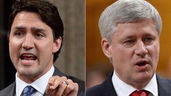 Harper Mocks Trudeau For Going 'Off