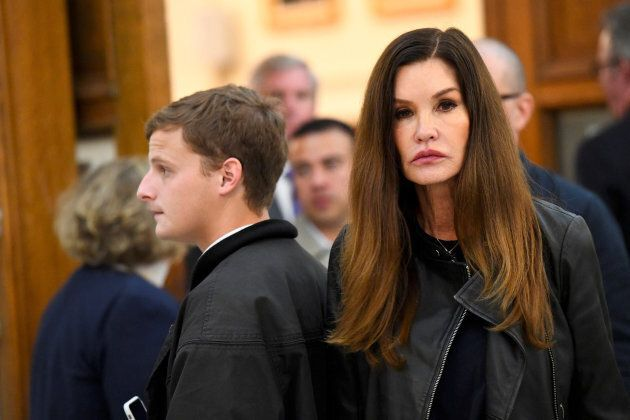 Janice Dickinson, reality TV star and supermodel, in the courtroom for Bill Cosby's sexual assault trial...
