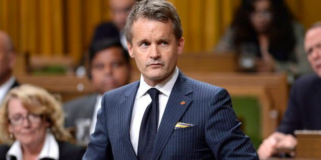 Minister of Veterans Affairs Seamus O'Regan in the House of Commons on Parliament Hill on Sept. 24,