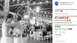 Canada, U.S. Women's Hockey Rivals Just Got Married Because Love Is