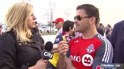 Reporter Shuts Down 'FHRITP' Hecklers At TFC