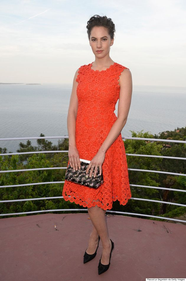 Emma Ferrer, Audrey Hepburn's Granddaughter, Stuns In Orange At Dior Cruise