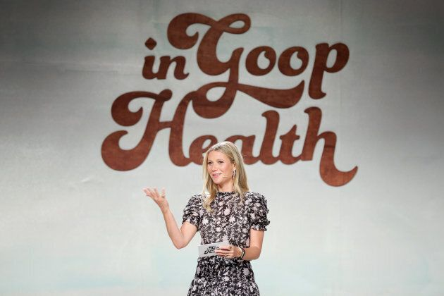 Gwyneth Paltrow speaks at the In goop Health Summit on June 9, 2018 in Culver City,