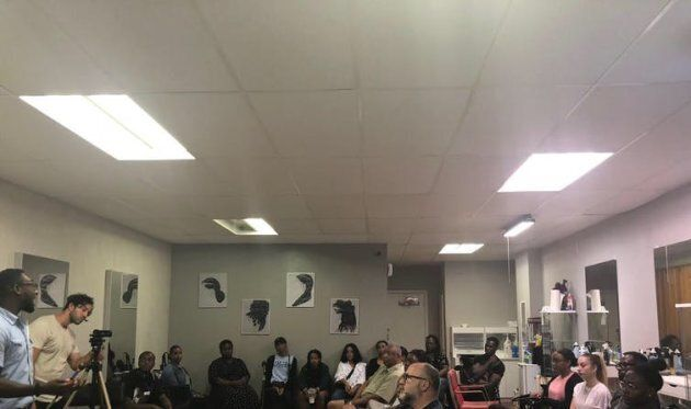 A photo from the Barbershop Talks in