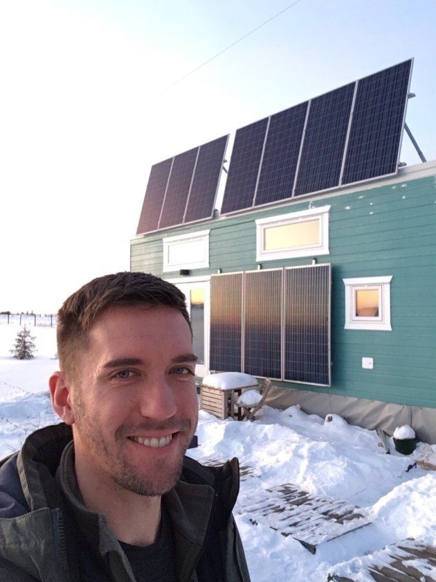 Zerbin teaches other people how to navigate the tiny home process — something he went through himself when building his own 360 sq.-ft. house.