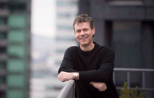 Aurora Cannabis chief corporate officer Cam Battley in Vancouver, B.C., Fri. Jan. 27,