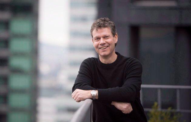 Aurora Cannabis chief corporate officer Cam Battley in Vancouver, B.C., Fri. Jan. 27, 2017.