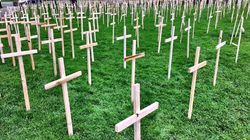 Activists Plant A Cross For Every Ontarian Who Died Of Overdose In