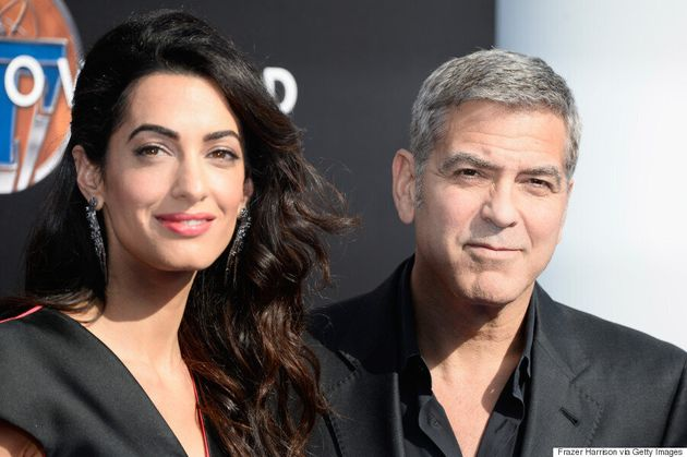 Amal Clooney Nails The Colour-Blocking Game, Yet