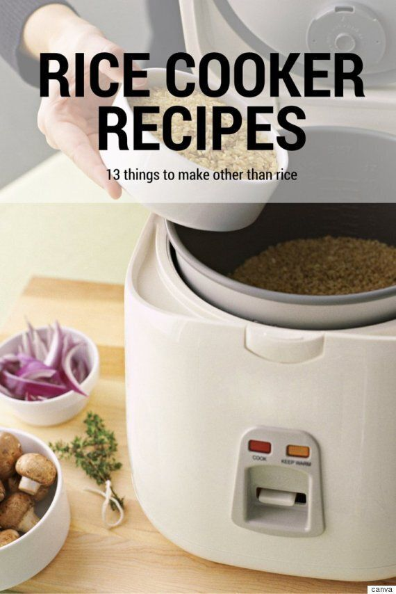 13 Rice Cooker Recipes You Have To See To
