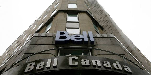 A Bell Canada office in downtown Ottawa, Nov. 26, 2008. A campaign led by Bell has come up short in efforts to convince Canada's telecom regulator to institute a website-blocking plan to address online piracy.
