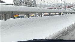 Record-Breaking Snowfall Creates Chaos On Calgary Roads,