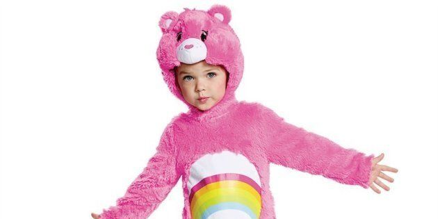 There are plenty of adorable Halloween costumes for kids that don't require crafting