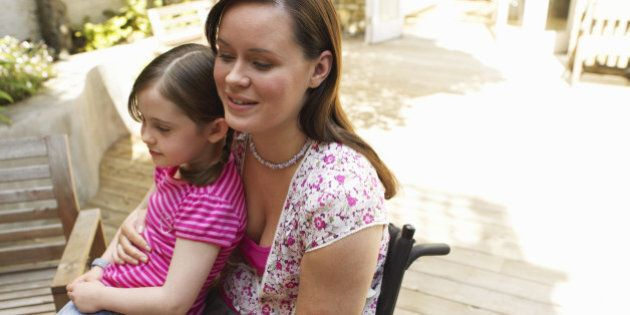 Moms Stress May Put Kids At Risk For >> Parents With Disabilities These Moms Live In Fear Of Losing Their