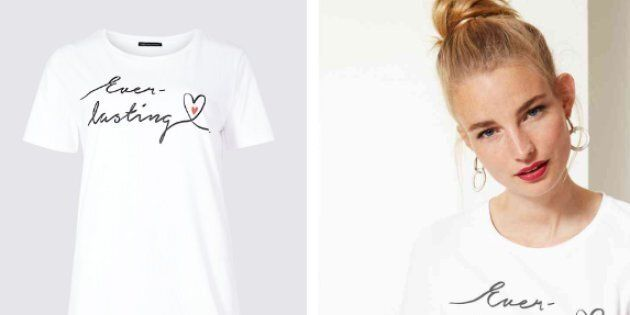 A new baby loss awareness shirt by Marks & Spencer is only available for