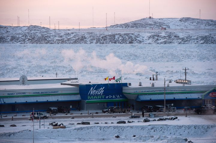 A grocery store is pictured in Iqaluit, Nunavut on Tuesday, Dec. 9, 2014.