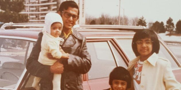 Ah the '70s, such a bad-ass yet cruel time for the Noronha clan. From left: me, my father, my brother...