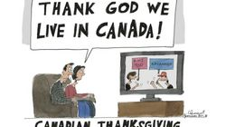 'Smug' Thanksgiving Cartoon Rubs Some Canadians The Wrong