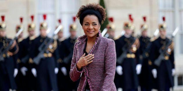 Secretary-General of the Organisation internationale de la Francophonie Michaelle Jean arrives to attend...