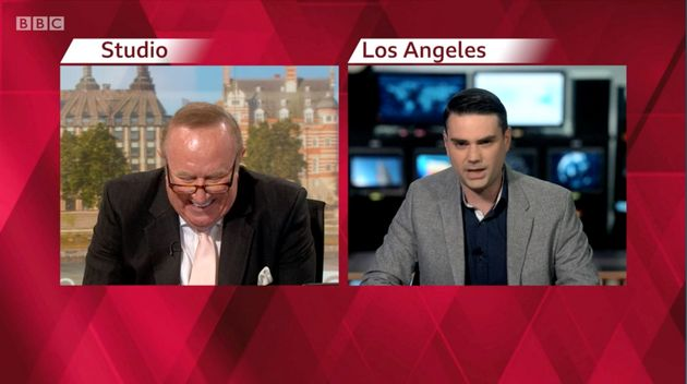 Ben Shapiro, Darling Of The American Right, Was Just Demolished By BBC's Andrew