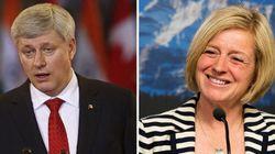 Harper Takes High Road On Alberta