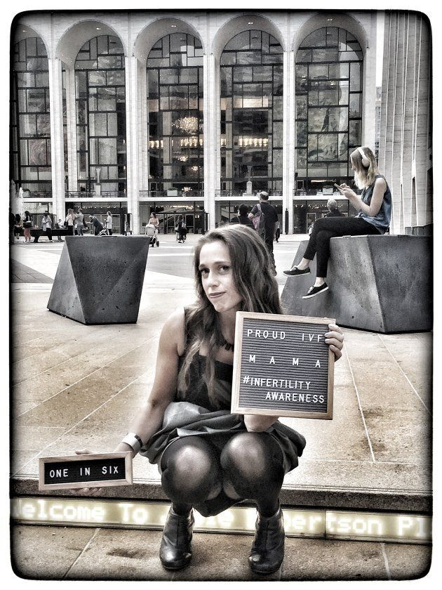 Raising awareness in New York City about infertility at the Lincoln