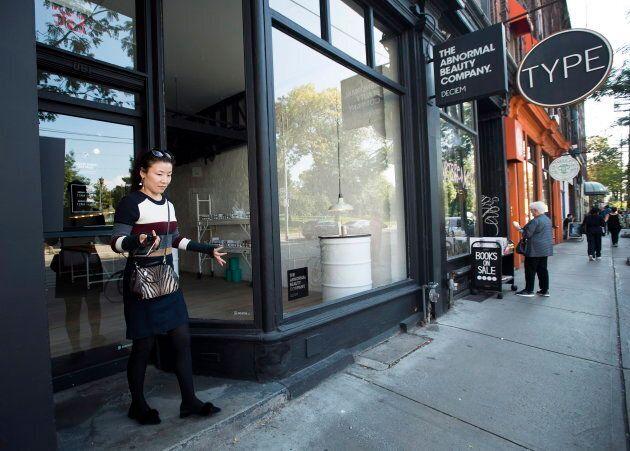 A closed Deciem store in