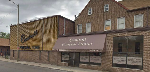 Cantrell Funeral Home before its closing.