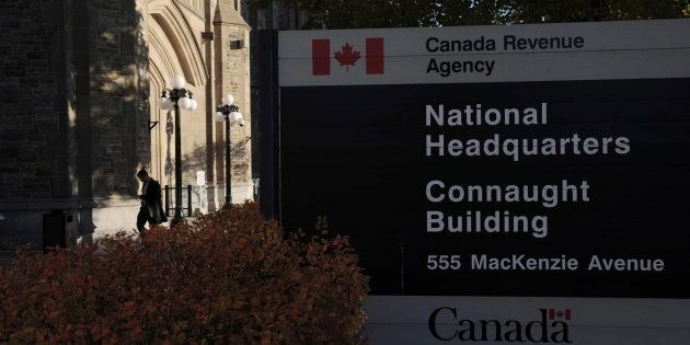 The Canada Revenue Agency headquarters in Ottawa on Nov. 4,