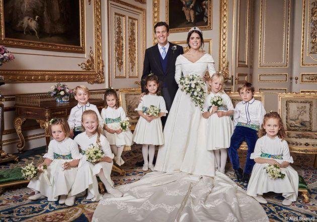 Mia Tindall, Savannah Phillips, Maud Windsor, Prince George, Princess Charlotte, Theodora Williams, Isla...