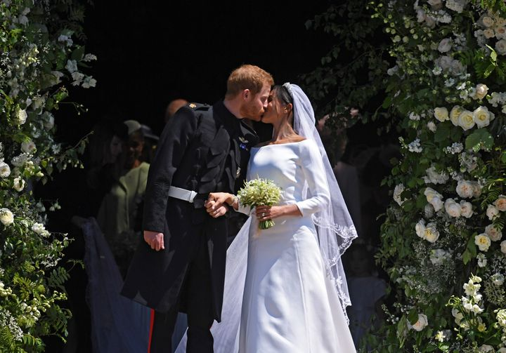 """Prince Harry and Meghan Markle said """"I do"""" on May 19, 2018, and haven't looked back since."""