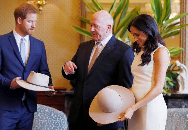 Meghan, Duchess of Sussex, also receives a traditional Australian