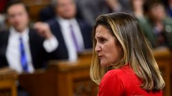 Chrystia Freeland Calls Saudi Journalist's Disappearance 'Very