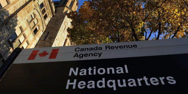 The Canada Revenue Agency headquarters in Ottawa on Nov 4, 2011.